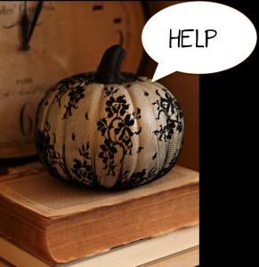 Help Me Pumpkin